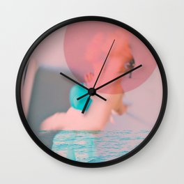 Swim Outside of Your Own Bubble, You're Going to Drown Wall Clock