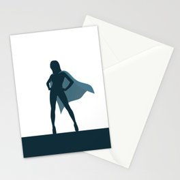 She Is A Superhero Stationery Cards