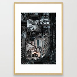 No Drone Framed Art Print