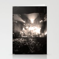 concert Stationery Cards featuring A Concert by Rick Cohen
