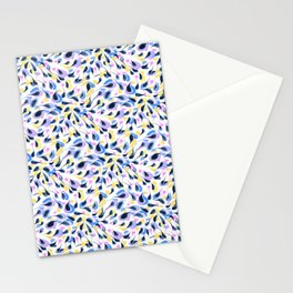 Watercolor abstract pattern pattern Stationery Cards