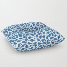 Blue Whales Floor Pillow