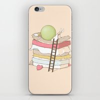sleep iPhone & iPod Skins featuring Can't sleep by Naolito