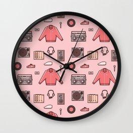 The Get Down - DJ Gear Wall Clock