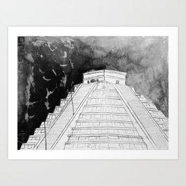 2017 Negative Art Print