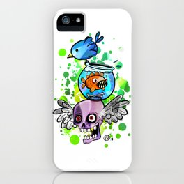 Ready for Adventure by Wendy Gilbert iPhone Case