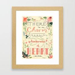 Austen Tenderness  Framed Art Print