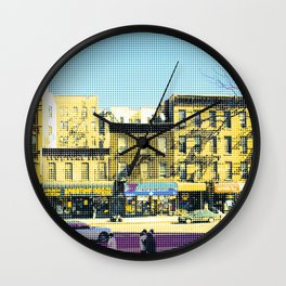 Americana - Harlem - New York - Dots Wall Clock