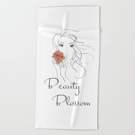 Beauty Blossom Beach Towel