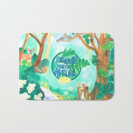 Medilludesign Ecotherapy Forest 2 Bath Mat