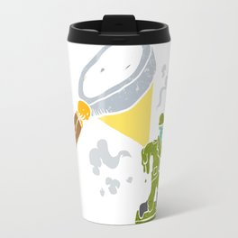 Magnifying melting soldier Travel Mug
