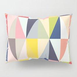 Abstract Geo Diamonds Pillow Sham