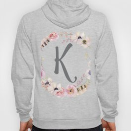 Floral Wreath - K Hoody