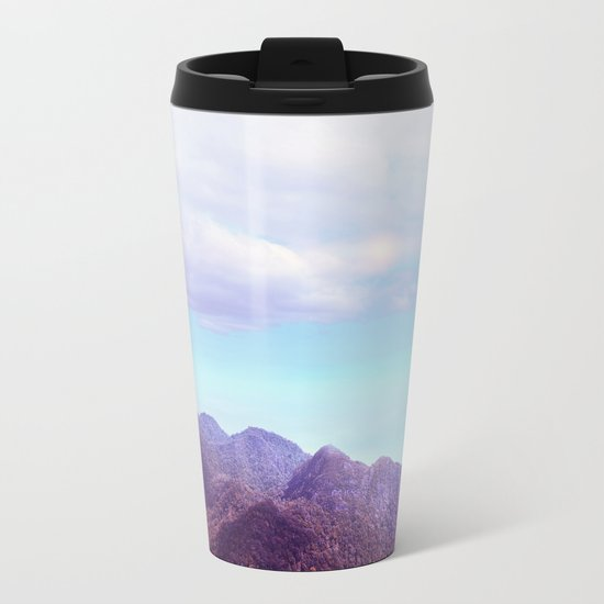 Pastel vibes 54 Metal Travel Mug