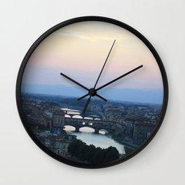 Italian Skies Wall Clock