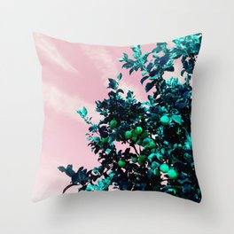 fairfax lemon tree Throw Pillow