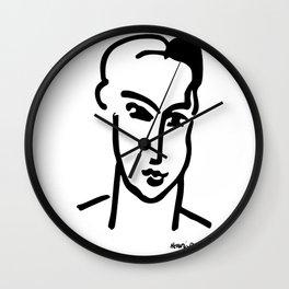 Henri Matisse Grande Tete de Katia Artwork Wall Clock