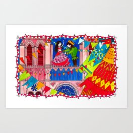 The Hunchback of Notre Dame Art Print