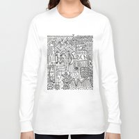 barcelona Long Sleeve T-shirts featuring Barcelona  by Michaella Fortune