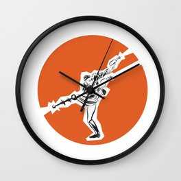 Quick Draw Wall Clock