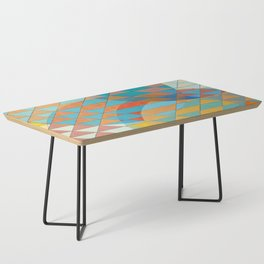 Triangle Pattern No. 11 Circles Coffee Table