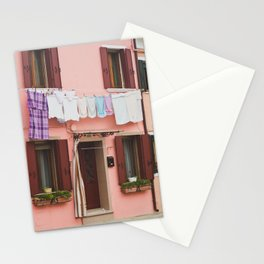 Burano in winter IV Stationery Cards