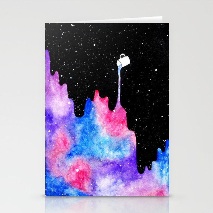 THERE'S COFFEE IN THAT NEBULA II Stationery Cards