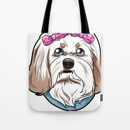 Havanese Dog Puppy Doggie Present Gift Tote Bag