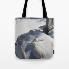 Essendo Morti - Brother and Sister Tomb - Swan Point Cemetery - by Jeanpaul Ferro Tote Bag