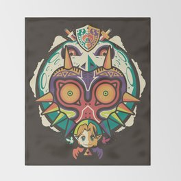 A Terrible Fate Throw Blanket
