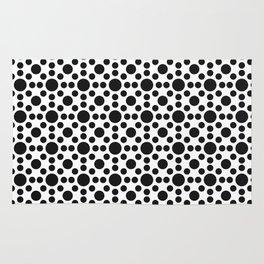 Sunshine Dots Optical Illusion Pattern Rug