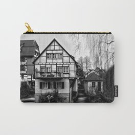 Old timbered house Carry-All Pouch