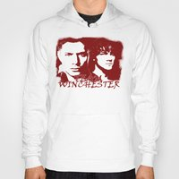 winchester Hoodies featuring Team Winchester by Panda Cool
