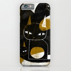 ABSTRACT WITH FIVE CATS iPhone 6s Slim Case
