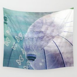 Butterfly Umbrella Wall Tapestry
