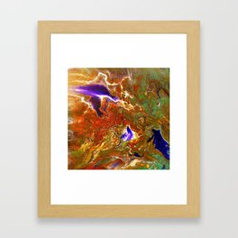 Color play Framed Art Print