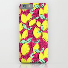 Lemon and pink iPhone 6s Slim Case