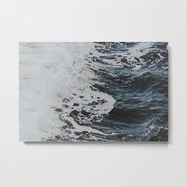 waves xvi Metal Print