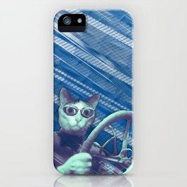 Driver cat iPhone Case