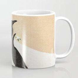 Crows from Koson Coffee Mug