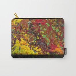 Abstract Distressed #1 Carry-All Pouch
