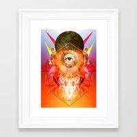 madonna Framed Art Prints featuring Madonna by Matt Bryson