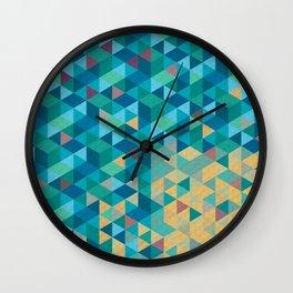 Tri Hard Wall Clock