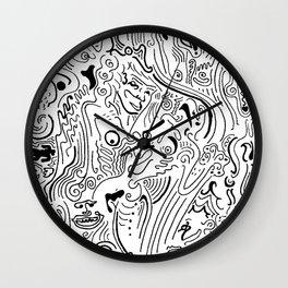 Creative Flow Wall Clock