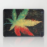 marijuana iPad Cases featuring Marijuana by Michael Creese
