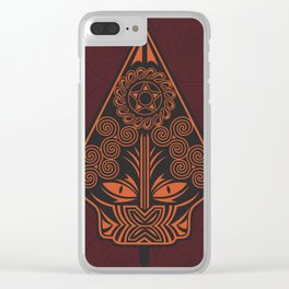 Wayang Red Clear iPhone Case