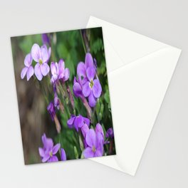Blue to blue Stationery Cards