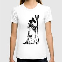 lacrosse T-shirts featuring The lacrosse wizard by laxwear