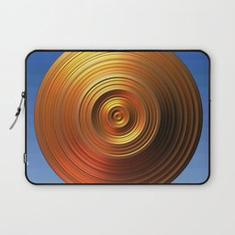 Golden Disc - for Circle Week Laptop Sleeve