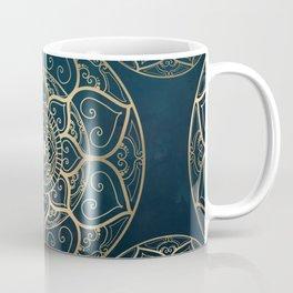 Mandala Night Blue Coffee Mug